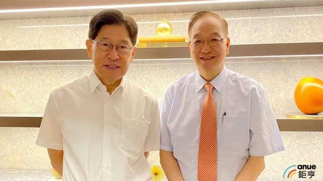 左為生華科董事長胡定吾、右為總經理宋台生。(鉅亨網資料照)