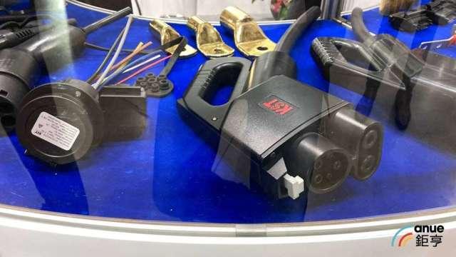 健和興充電槍產品。(鉅亨網資料照)