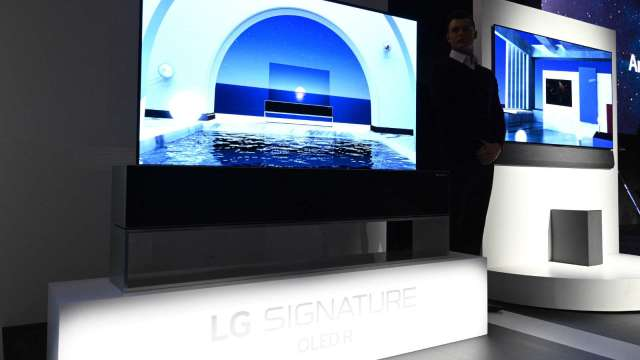 LG Display將投3.3兆韓元 以增產中小型OLED面板(圖片:AFP)