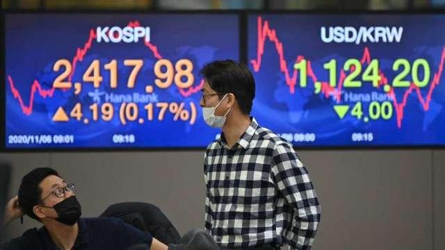 南韓今年IPO創高 散戶全力支持 投資銀行大賺(圖:AFP)