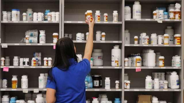 美時不受美學名藥降價衝擊 上修全年營收、毛利率目標。(圖:AFP)
