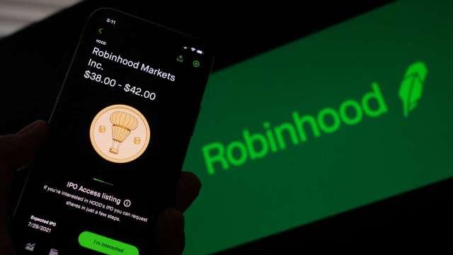待開發市場龐大!Robinhood 65美元才合理 隱含40%上漲空間 (圖片:AFP)