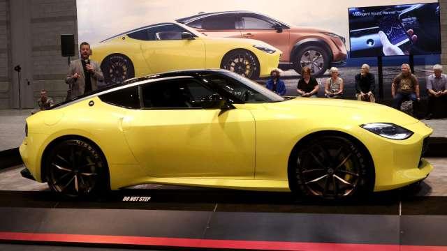 日產全新性能車Z正式亮相 採汽油動力、有手排選擇 (圖片:AFP)