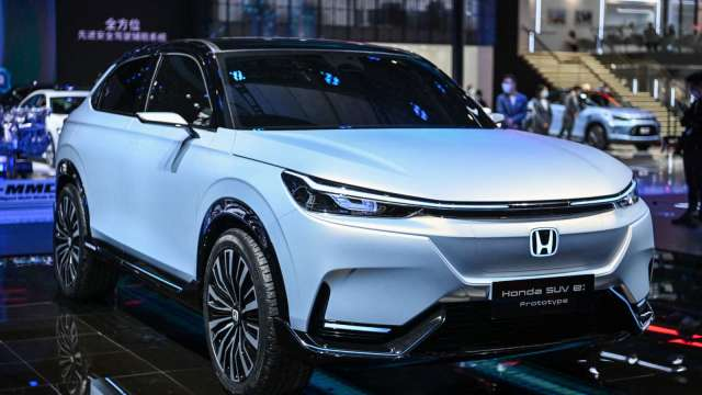 Honda計畫在廣州建新廠房 將投入新能源車等生產 (圖片:AFP)