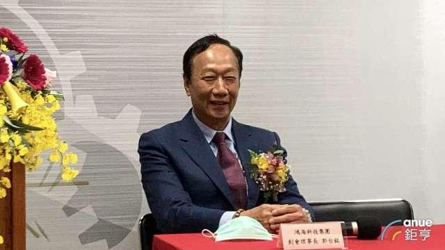 鴻海創辦人郭台銘。(鉅亨網資料照) (2)