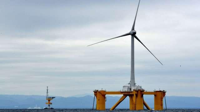 離岸風電區塊開發容量分配要點出爐,每度電將以2.49元為上限。(圖:AFP)