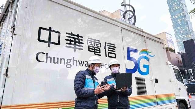 中華電攜手緯創導入5G企業專網 提升竹科廠產線效率。(圖:中華電提供)