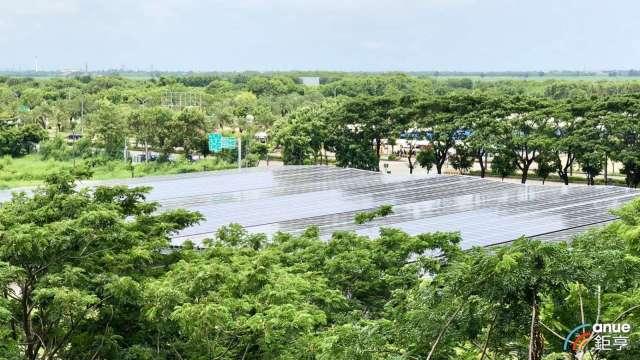 國內太陽能系統建置。(鉅亨網資料照)