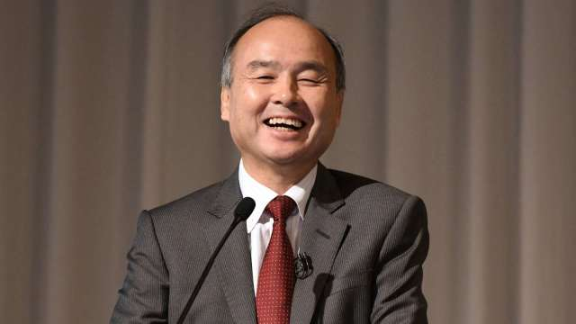 孫正義軟銀脫手DoorDash股票 22億美元入袋 (圖片:AFP)