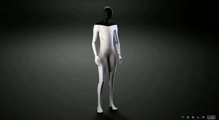 特斯拉可能會在明年推出人形「特斯拉機器人」 (圖片:特斯拉)