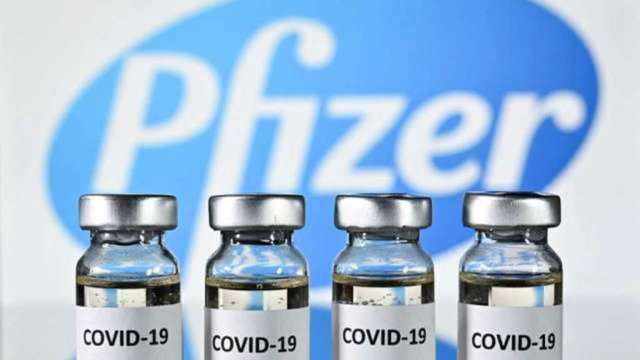 美將批准首支「完全授權」疫苗 輝瑞、BNT盤後跳漲 (圖:AFP)