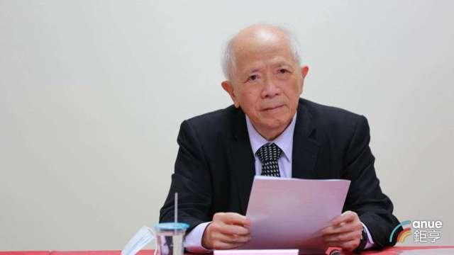 健鼎董事長王景春。(鉅亨記者張欽發攝)