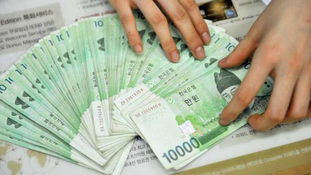 南韓家庭債務Q2激增 可能迫使央行最快本周升息(圖:AFP)