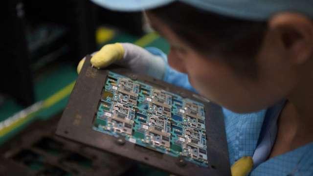 路透:台灣讓美國在晶片短缺問題上放心(圖片:AFP)