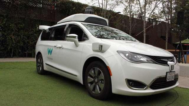 Waymo自駕車啟動試乘計畫 拚3年內進駐舊金山(圖片:AFP)