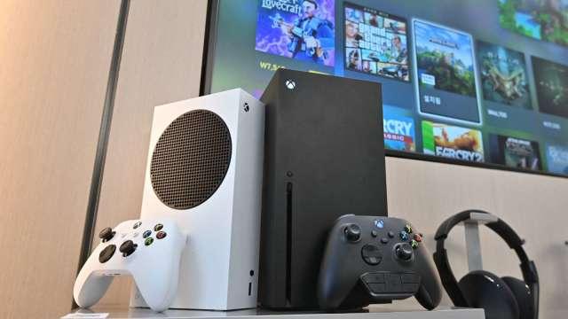 微軟下半年將在Xbox上推出雲端遊戲服務(圖片:AFP)