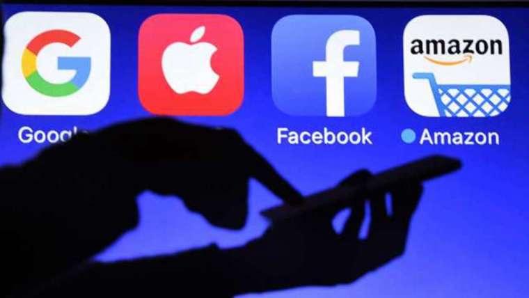 蘋果等科技巨擘正面臨反壟斷和監管壓力。圖: AFP