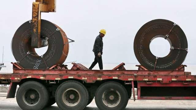 7月全球粗鋼生產年增3.3% 惟中國出現萎縮 (圖片:AFP)