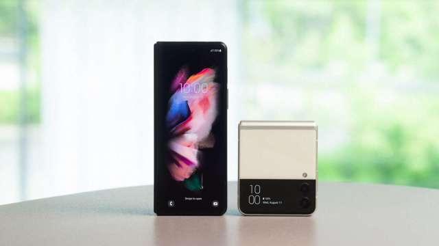 Galaxy Z Fold3 Filp3 5G。(圖:台灣三星提供)