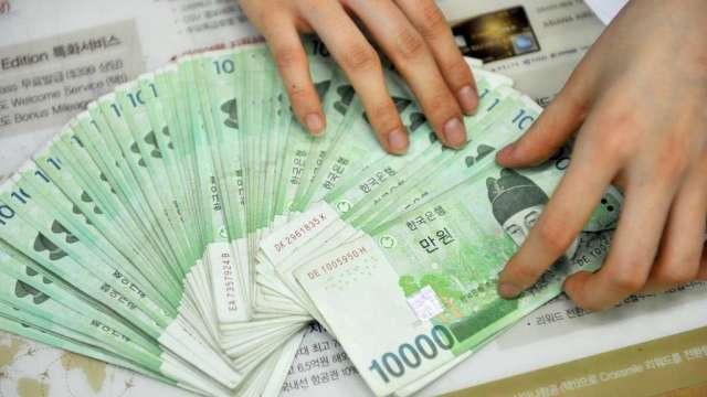 南韓央行升息 道明證券:看好韓元轉強(圖:AFP)