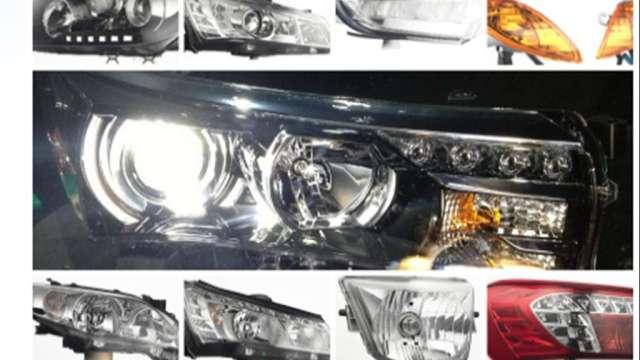 大億車燈產品。(圖:取自大億官網)
