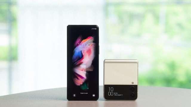 Galaxy Z Fold3|Filp3 5G。(圖:台灣三星提供)