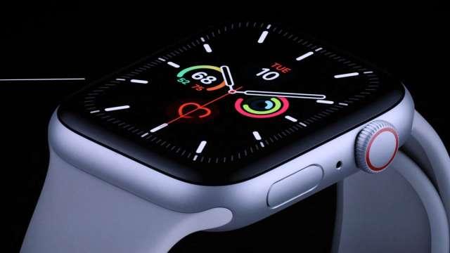 Q2智慧手錶全球出貨年增27% Apple Watch用戶數突破1億大關 (圖片:AFP)
