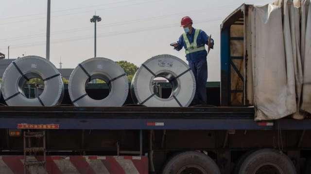 中國計畫9月1日釋放第三批國家金屬儲備 (圖:AFP)