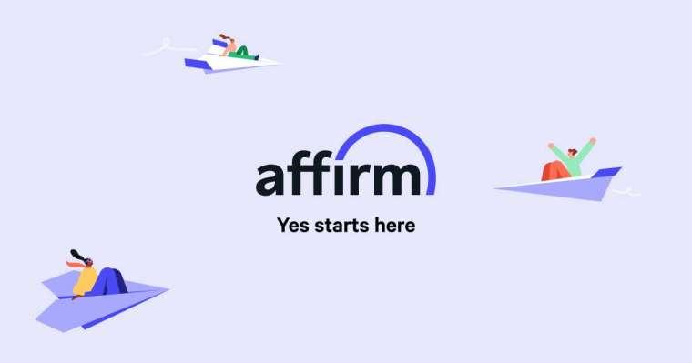 Affirm 的先買後付服務受年輕人觀迎。圖取自公司官網