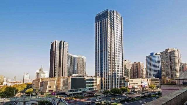 鼎固上海打浦橋站日月光中心。(圖:鼎固提供)