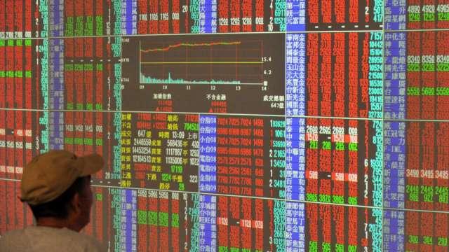 台股大漲收復季線 外資加碼敲進 三大法人聯手買超239.65億元。(圖:AFP)