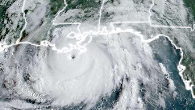 颶風艾達損毀美國南部穀物貨運站 影響出口 (圖片:AFP)