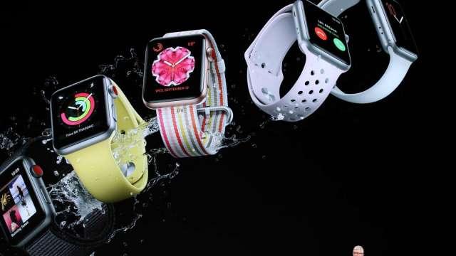蘋果Apple Watch 7驚傳生產延遲 主因是設計複雜 (圖片:AFP)