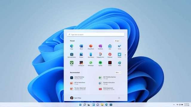 微軟Windows 11下月登場,華碩、宏碁新機同步升級。(圖:微軟提供)