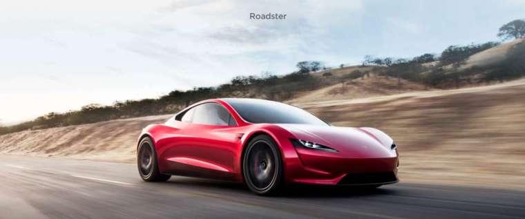 特斯拉第 2 代 Roadster 電動超跑交車期延至 2023 年 (圖片:特斯拉官網)