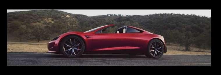2017 年特斯拉推出新款 Roadster 超跑 (圖片:特斯拉官網)