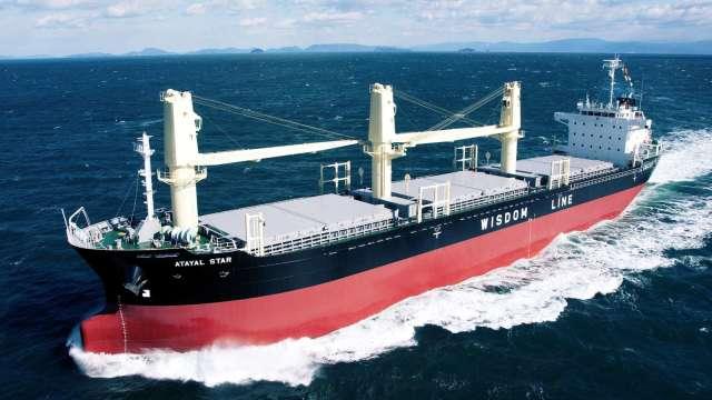 慧洋以中小船舶為營運主體。(圖:慧洋提供)