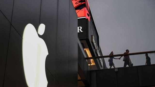蘋果手機晶片市佔強壓三星 排名第三(圖片:AFP)