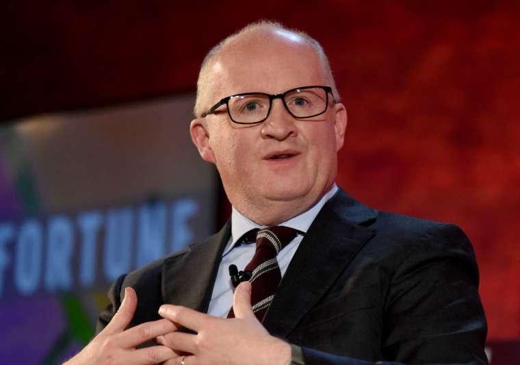 ECB首席經濟學家Philip Lane (圖:AFP)