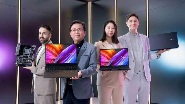華碩衝刺專業型市場,ProArt創作者新機將搭載微軟Win 11。(圖:華碩提供)