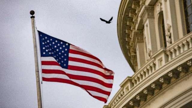 民主黨關鍵參議員要求對3.5兆美元預算案「按下暫停鍵」(圖:AFP)