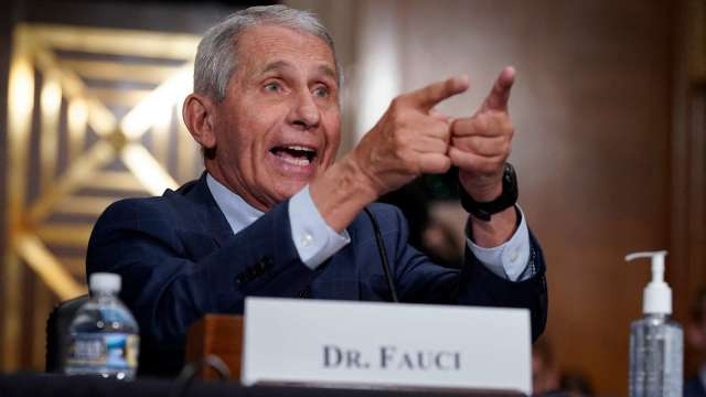 白宮首席醫療顧問佛奇博士 (Dr. Anthony Fauci)  (圖片;AFP)