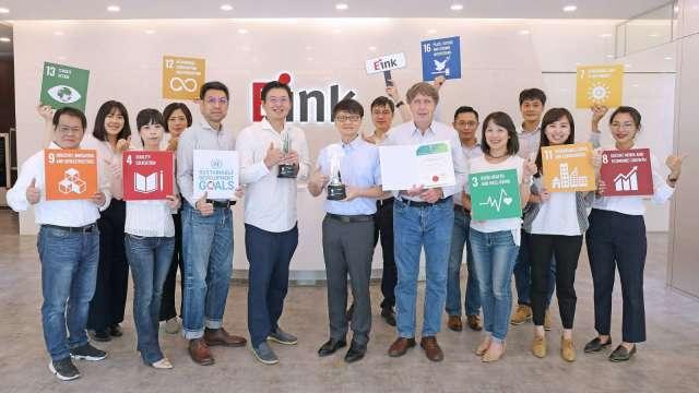 元太獲得兩項2021亞洲企業社會責任獎。(圖:元太提供)