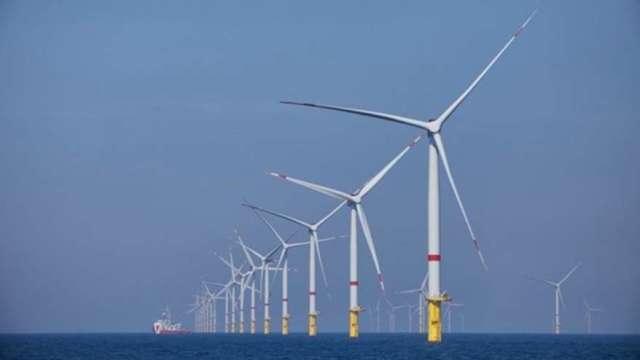 綠能蔚為全球主流 殼牌擬於南韓建浮動式離岸風電場(圖:AFP)
