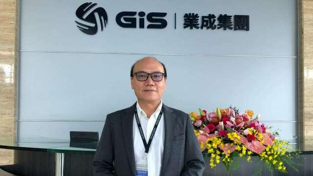 GIS-KY董事長暨總經理周賢穎。(圖:業成提供)