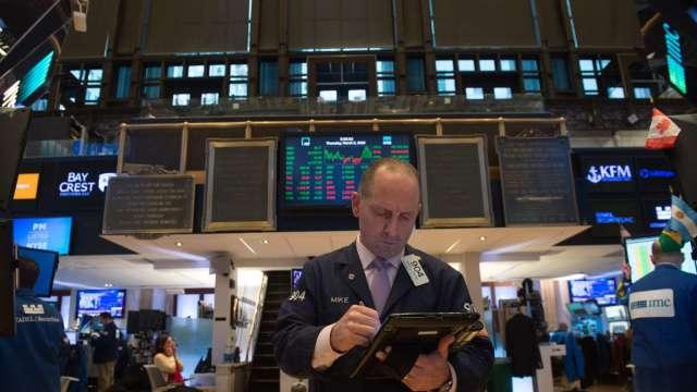 〈美股早盤〉經濟復甦擔憂加劇 美股漲跌互現、道瓊挫逾150點(圖:AFP)