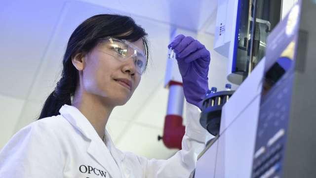 永光主要業務包括各類化學品。(圖:AFP)