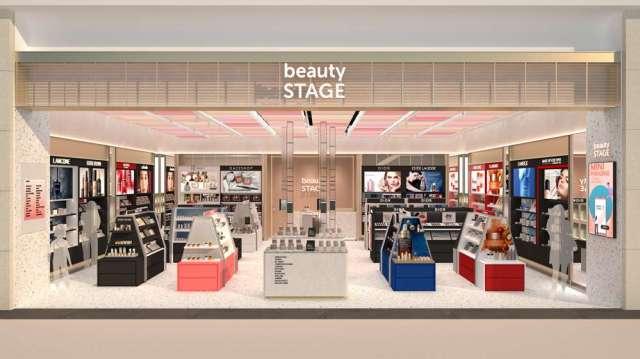 中和環球進行同業結盟,導入新光三越旗下的beauty STAGE美麗台。(圖:環球購物中心提供)