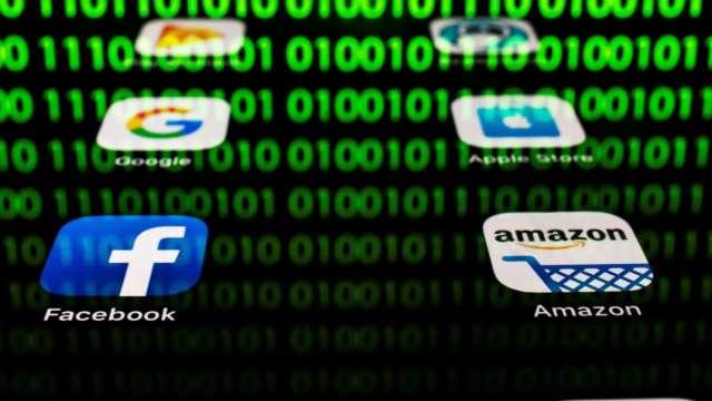 主要指數期貨持平 大型科技股受關注(圖:AFP)