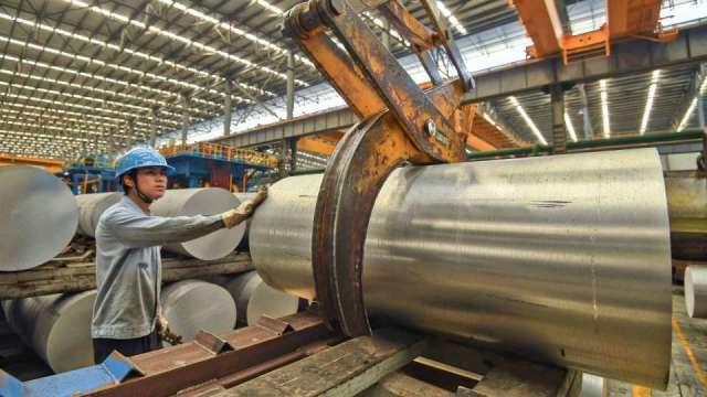 美國內需強 大成鋼、大國鋼8月營收同創高。(圖:AFP)